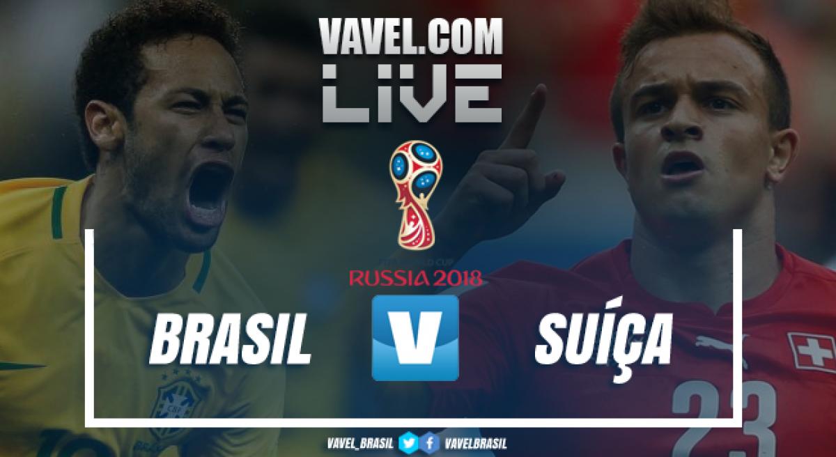 Brasil 1-1 Suíça, em direto: assim foi o final de tarde desinspirado da seleção de Neymar e companhia