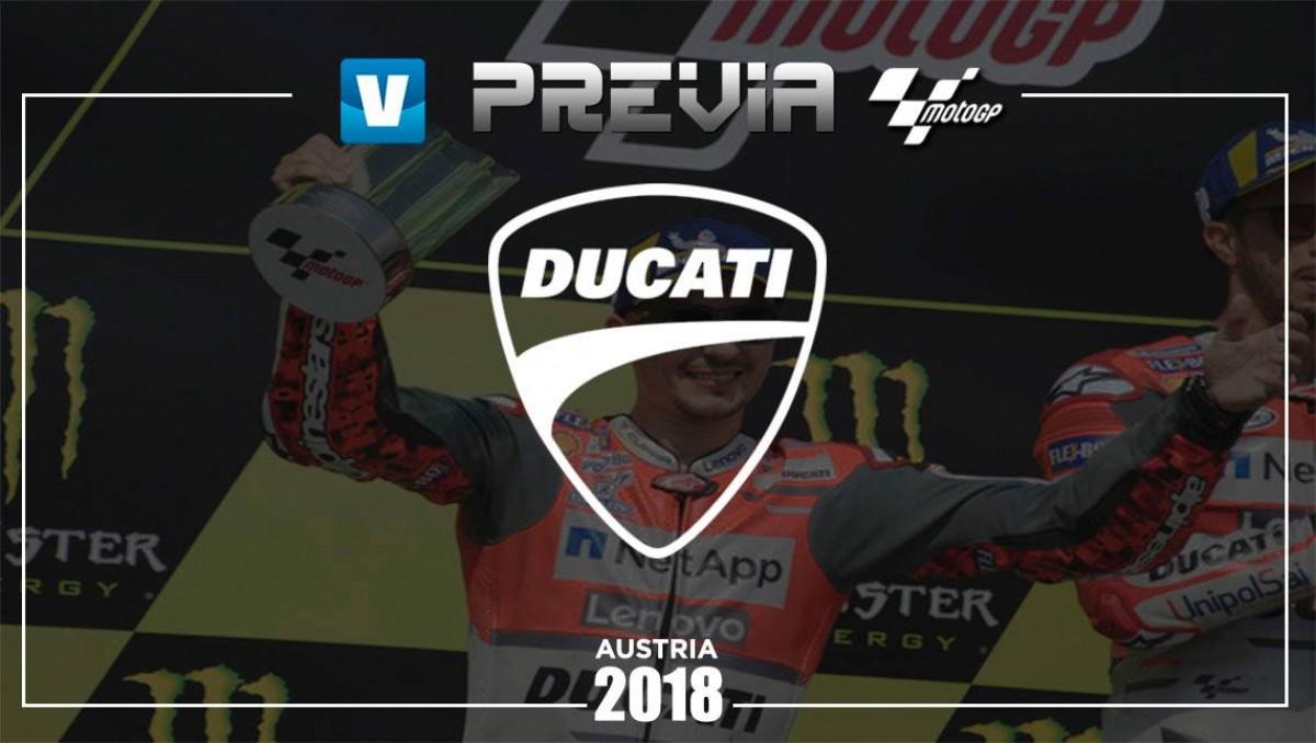 Previa Ducati GP de Austria: batalla dentro y fuera de la pista