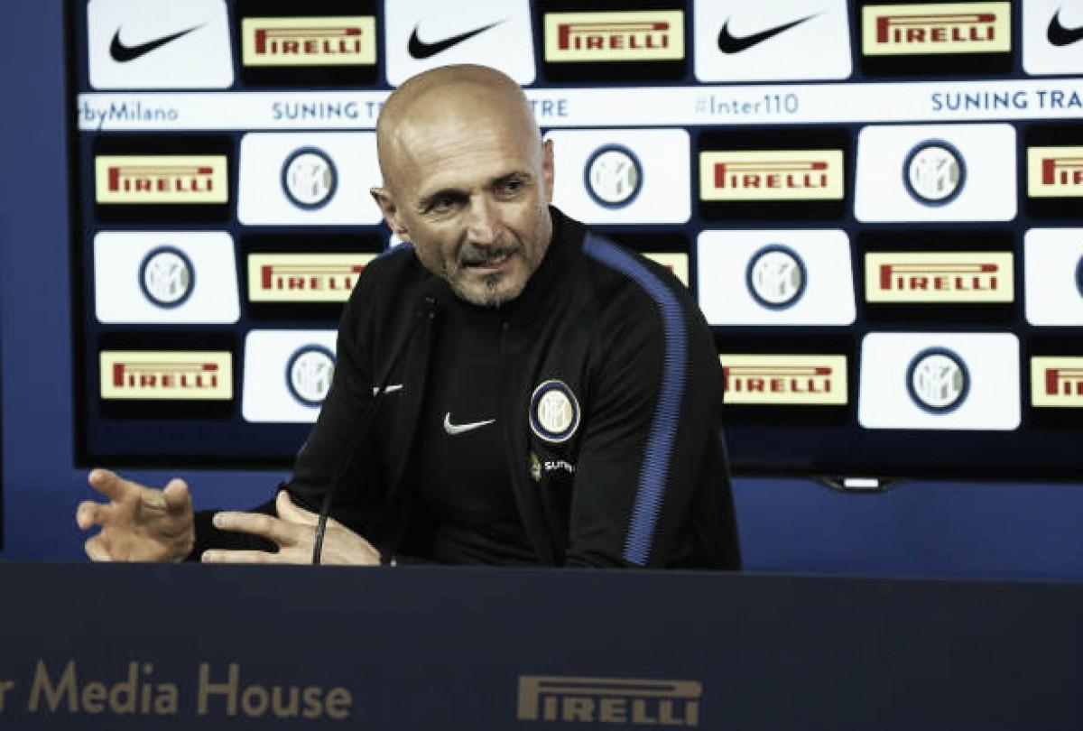 """Técnico da Inter, Spalletti admite frustração após empate: """"Três pontos significariam muito"""""""