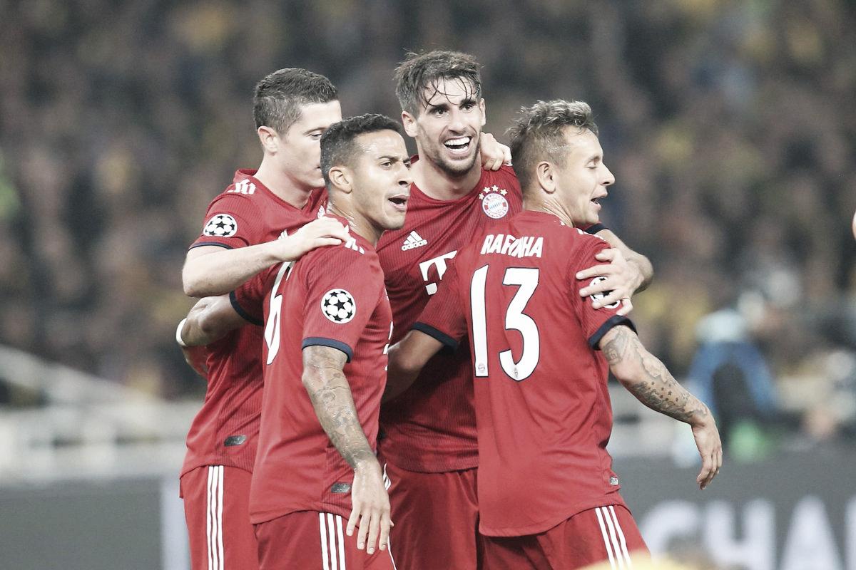 Bayern de Munique encontra dificuldades, mas vence AEK Atenas fora de casa