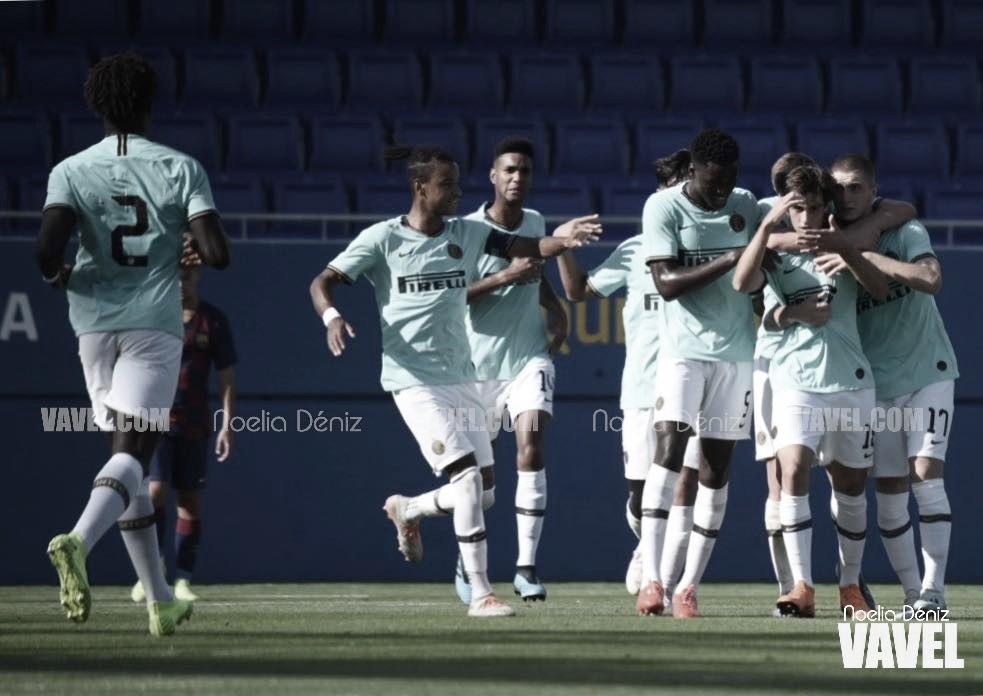 El Inter arrolla al Juvenil A de Víctor Valdés