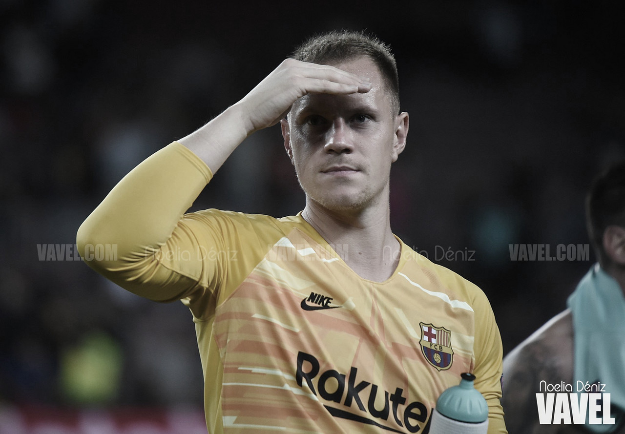 Ter Stegen, novedad en la convocatoria del Barça