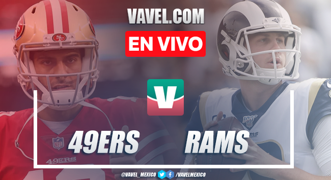 Video resumen y touchdowns San Francisco 49ers 20-7 Los Ángeles Rams en NFL 2019