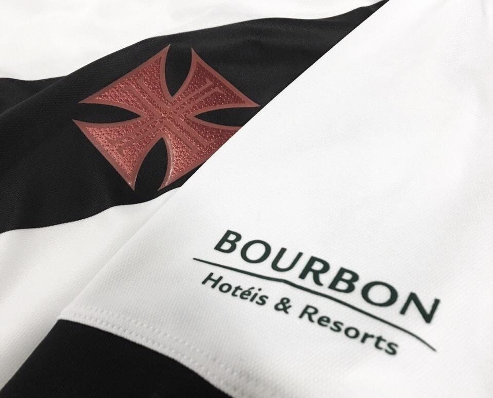 Vasco fecha patrocínio com a Bourbon Atibaia Resort até o final da Taça Rio