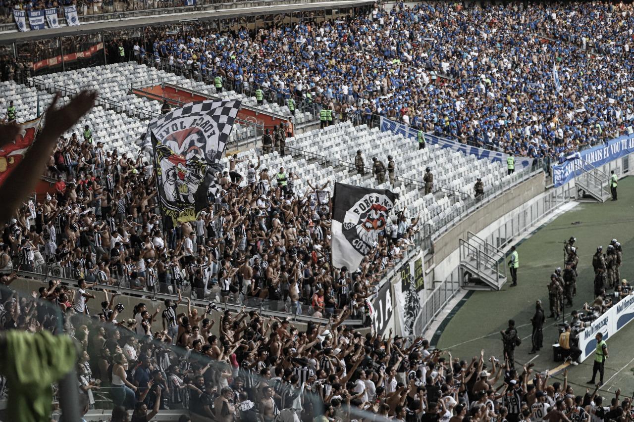 Em consenso, Atlético-MG e Cruzeiro definem torcida única em clássico mineiro
