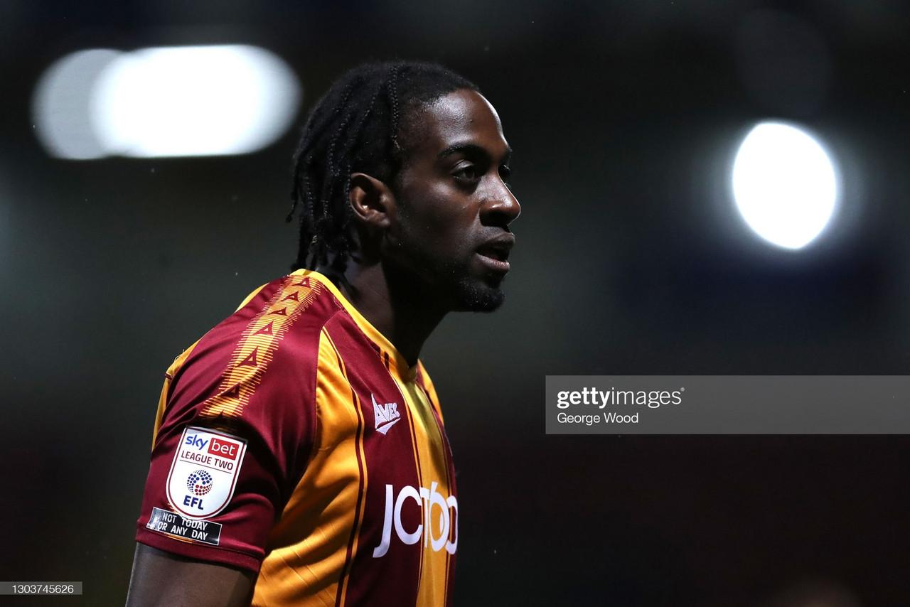 Colchester United 1-2 Bradford City: Donaldson dictates Bantams triumph