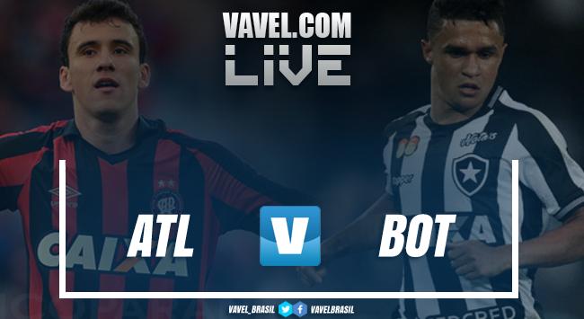 Resultado e gols de Atlético-PR x Botafogo pelo Campeonato Brasileiro (2-1)