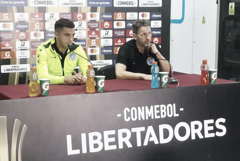 Lucas Bernardi: ''Hicimos un buen partido''