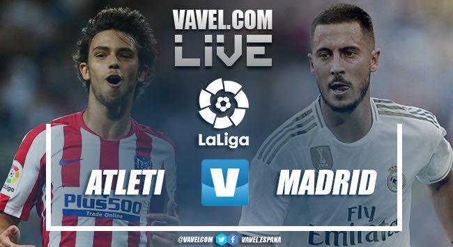 Resumen Atletico De Madrid 0 0 Real Madrid En Laliga Santander 19