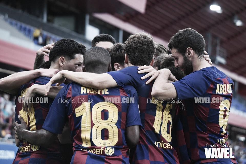 El FC Barcelona B aplasta al Orihuela CF
