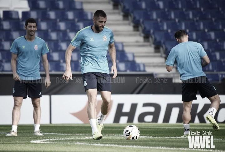 CSKA - RCD Espanyol: Víctor Gómez viaja a Moscú