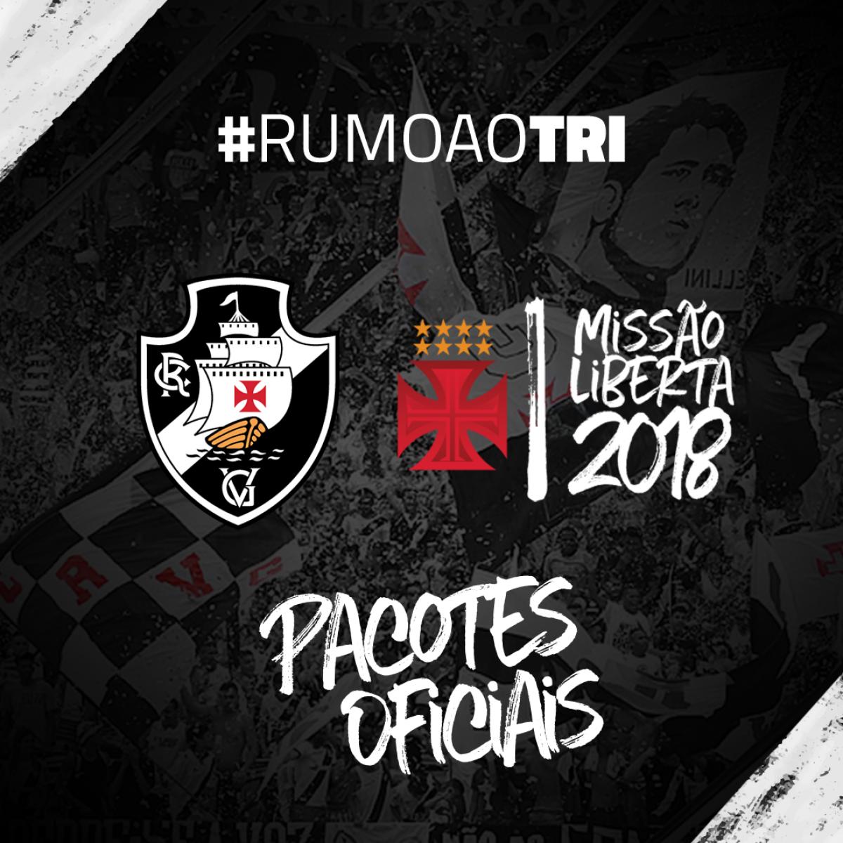 Vasco anuncia pacote de viagem para as partidas fora de casa na Libertadores