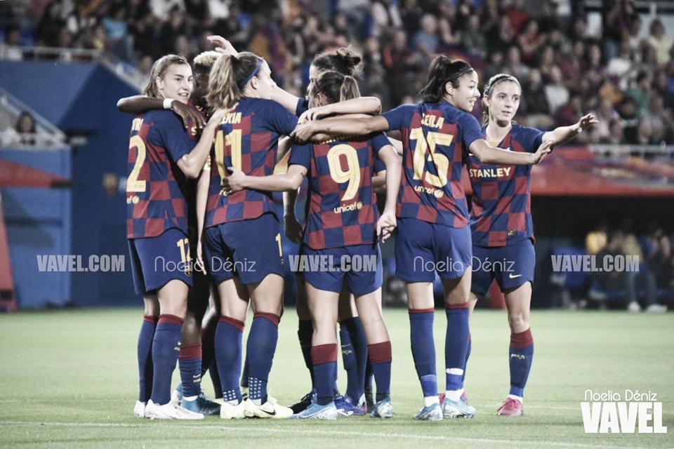 El Femení, con pie y medio en los cuartos de final de la UEFA Women's Champions League