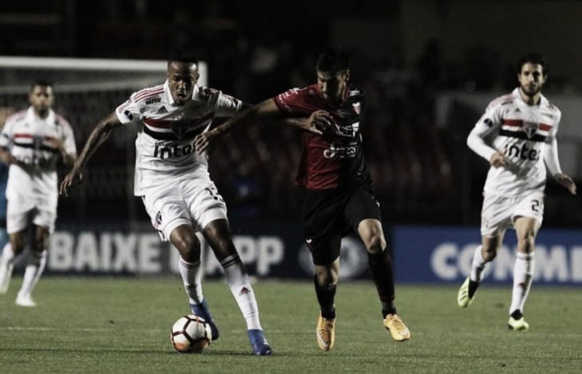 Resultado Cólon 0 x 1 São Paulo pela Copa Sul-Americana 2018