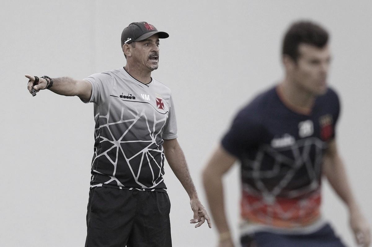 Interino Valdir Bigode comandará Vasco contra Ceará pelo Campeonato Brasileiro