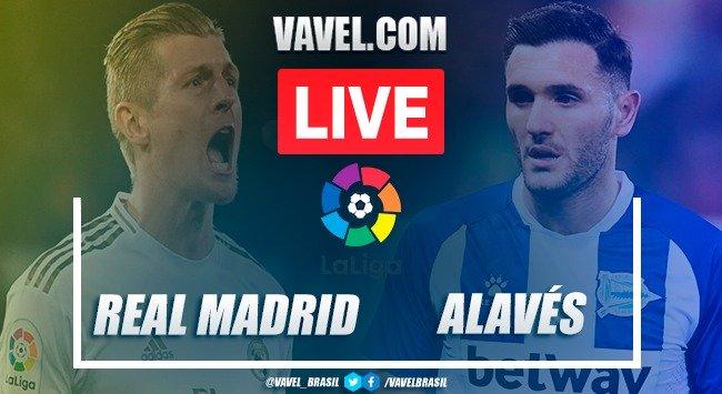 Resumen Real Madrid vs Alavés en La Liga Santander (2-0)