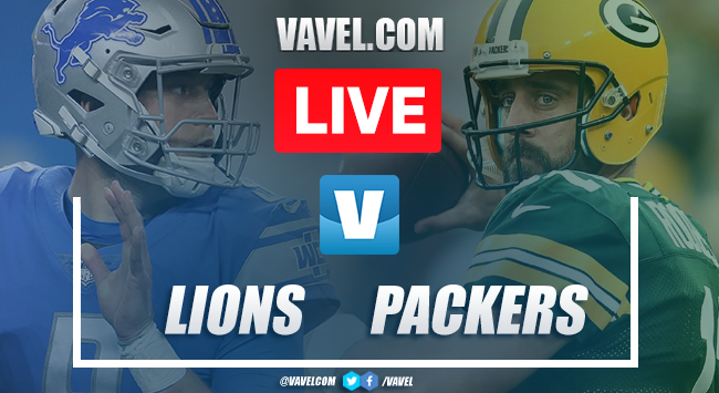 Detroit Lions vs Green Bay Packer: LIVE Stream Online and MNF Updates (13-7)
