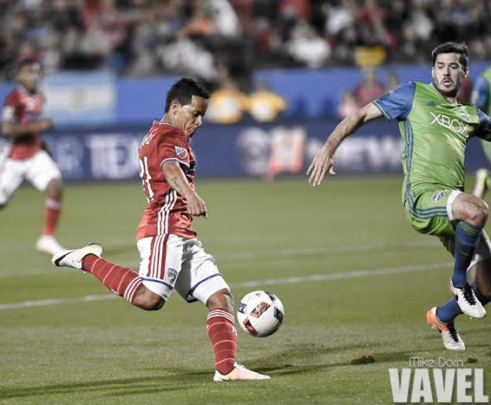 Mauro Diaz, Michael Barrios goals enough for FC Dallas to sink Seattle Sounders FC 2-0