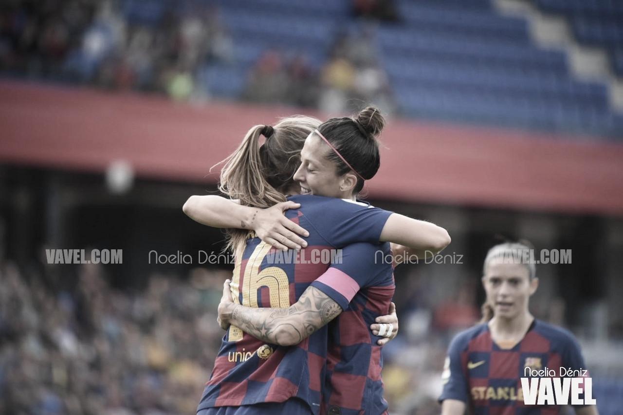 El Barça atropella al Logroño y mantiene el liderato