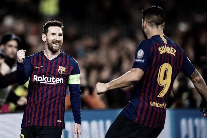 Com show de Messi, Barcelona vence Lyon e vai às quartas da Champions League