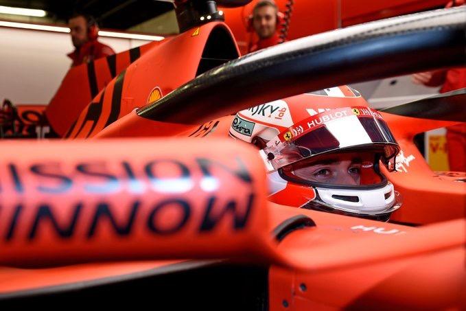 """Leclerc en los test con Ferrari: """"Tengo que decir que realmente lo disfruté"""""""
