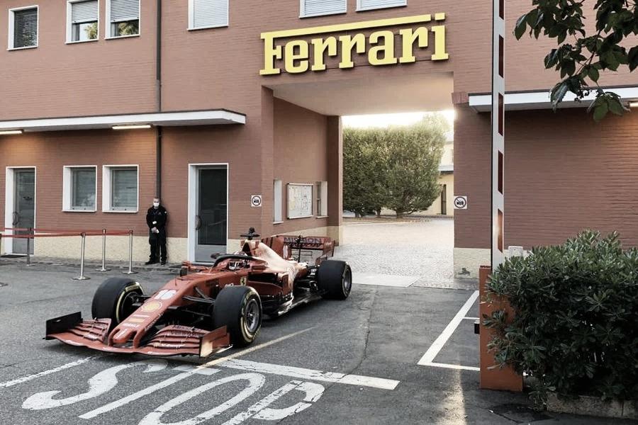 Ferrari dijo buenos días a Maranello