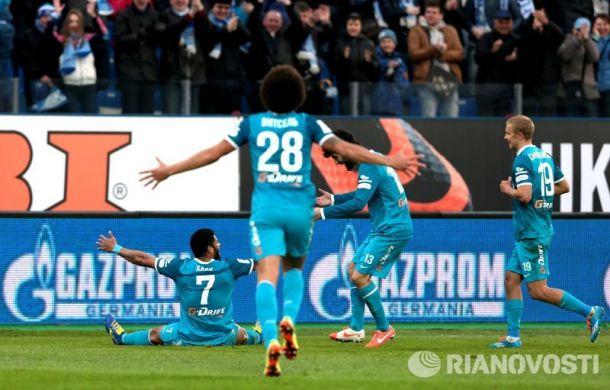 Résumé 25ème Journée Russian Premier League : Le Zenit reprend le trône de leader