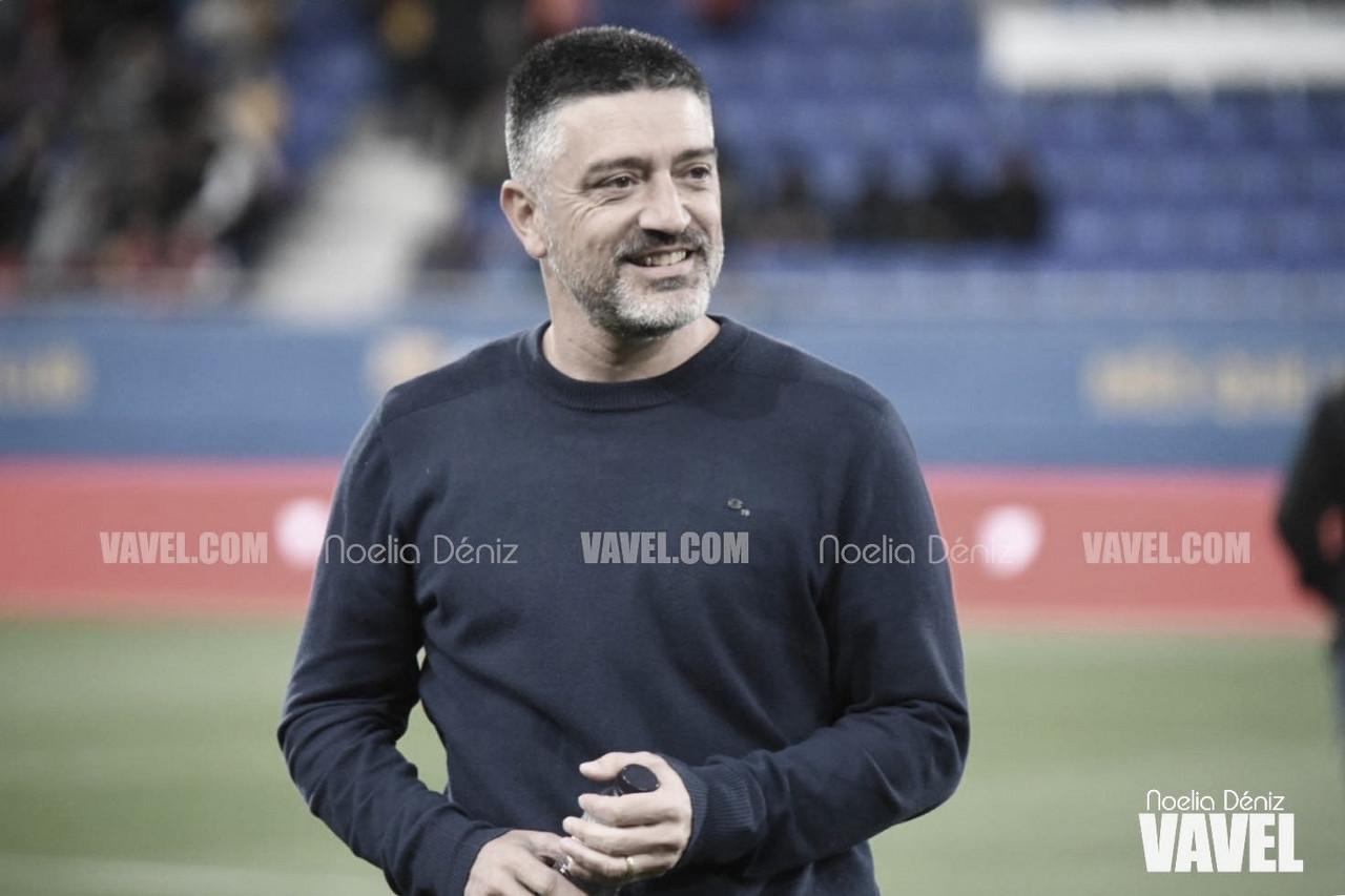 """García Pimienta: """"Cuando un jugador va con intención de hacer daño, se tiene que penalizar"""""""
