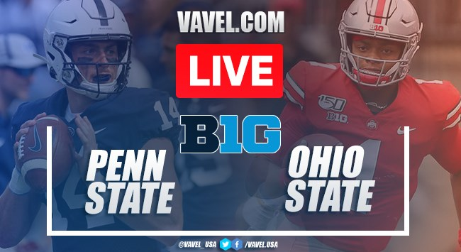 Penn State Nittany Lions vs Ohio State Buckeyes: Live Stream, How to Watch and Score Updates in NCAA 2019 (17-28)