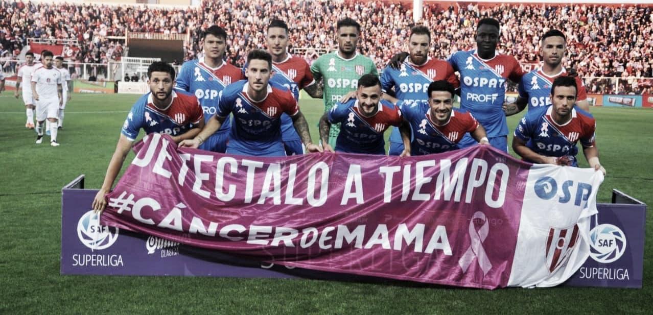 En un gran partido, Unión empató con Independiente