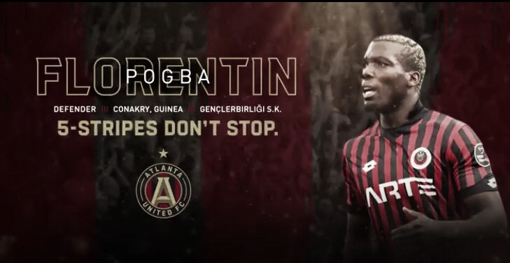 Pogba firma por Atlanta United