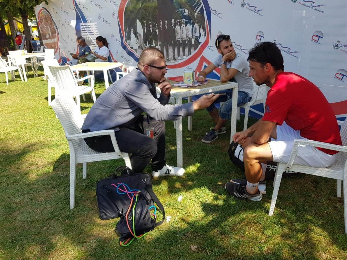 """ESCLUSIVA - Challenger San Benedetto, Arnaboldi: """"Buone sensazioni, contento per la vittoria."""""""