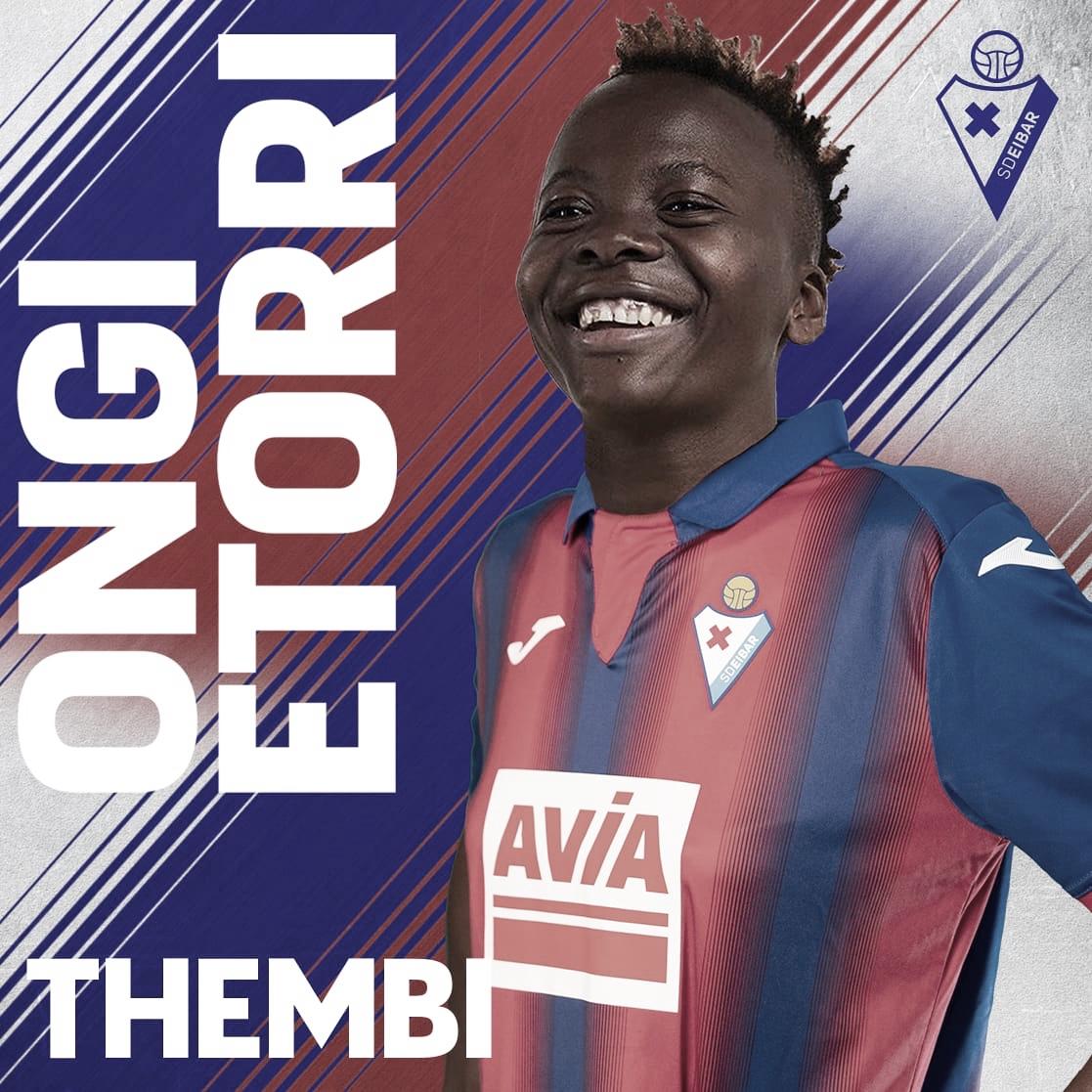 Thembi Kgatlana, contratación de lujo para la delantera de la SD Eibar