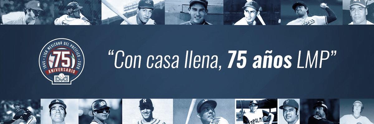 Anuncia la Liga Mexicana del Pacífico festejos del 75 aniversario