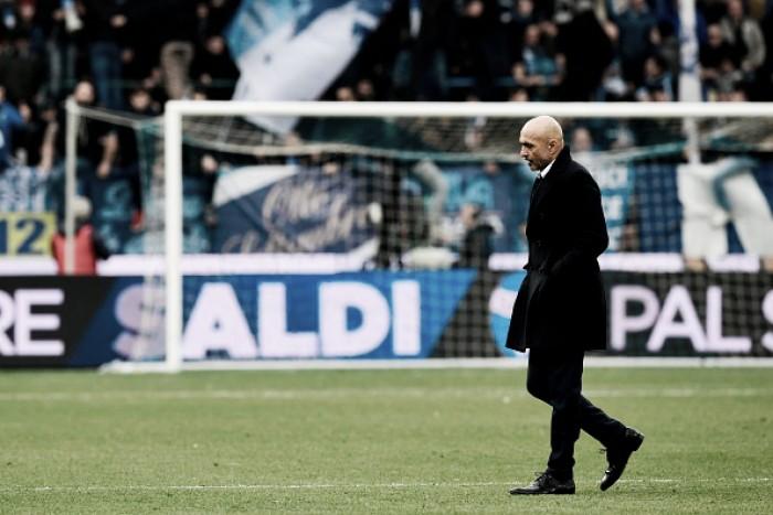"""Após empate, Spalletti visa recuperação da Inter: """"Precisamos de equilíbrio"""""""