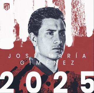 El Atlético renueva a Giménez hasta 2025