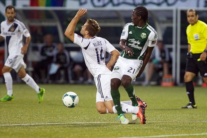 Score Los Angeles Galaxy-Portland Timbers In MLS Scores (1-1)