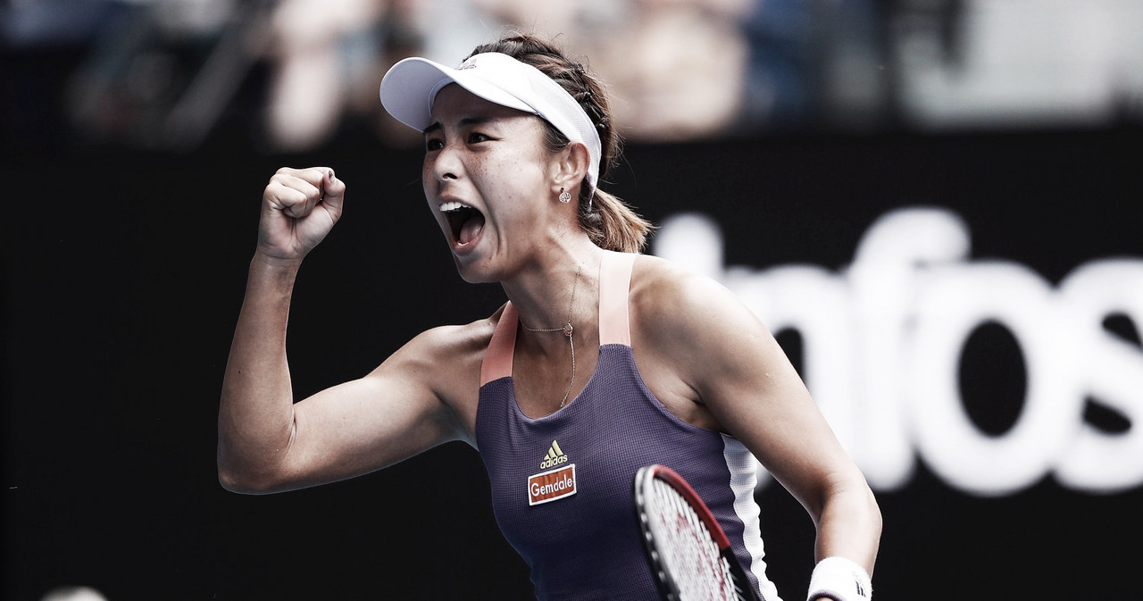 Qiang Wang consegue revanche em grande estilo e elimina Serena Williams do Australian Open