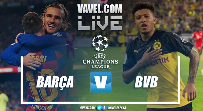 Resumen FC Barcelona vs Borussia Dortmund (3-1)