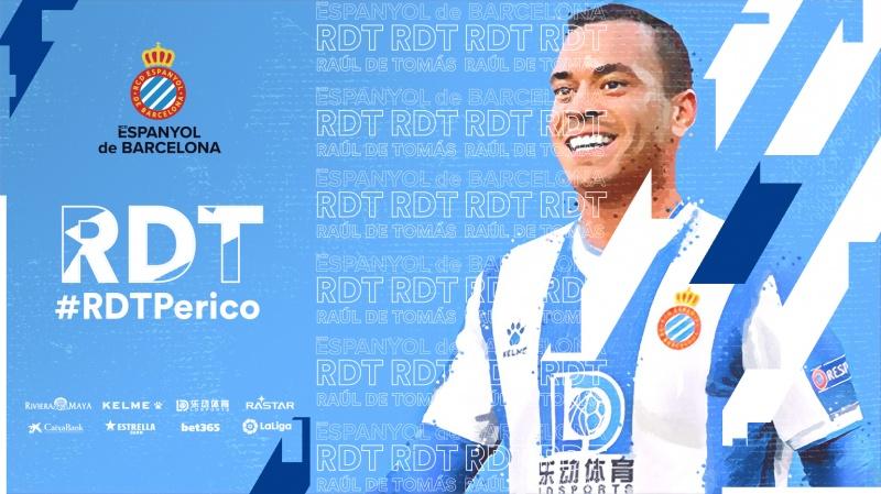 Raúl de Tomás, nuevo jugador del Espanyol