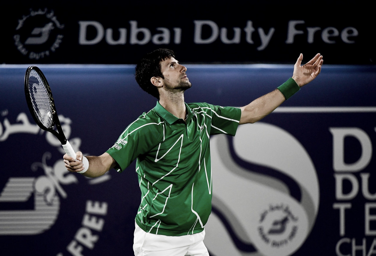 Djokovic salva três match points, vence Monfils e está classificado para final em Dubai