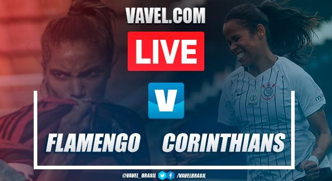 Gols e melhores momentos de Corinthians x Flamengo pelo Campeonato Brasileiro Feminino