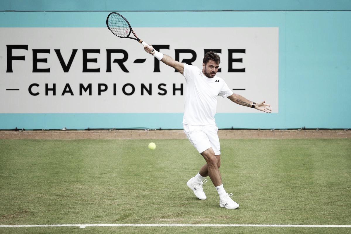Jogando em alto nível, Wawrinka despacha Evans e estreia com vitória no ATP 500 de Queen's