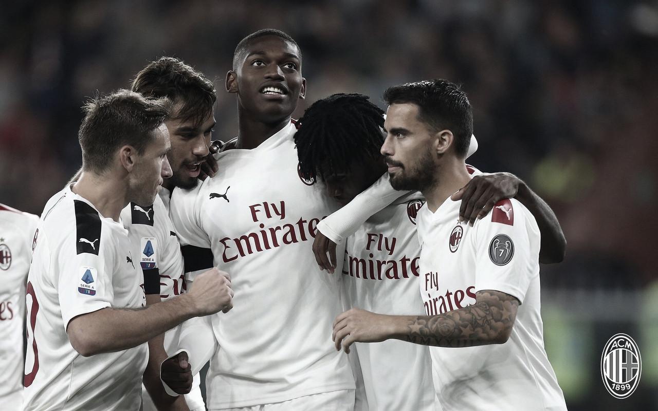 Em jogo de quatro expulsões, Milan bate Genoa pelo Campeonato Italiano