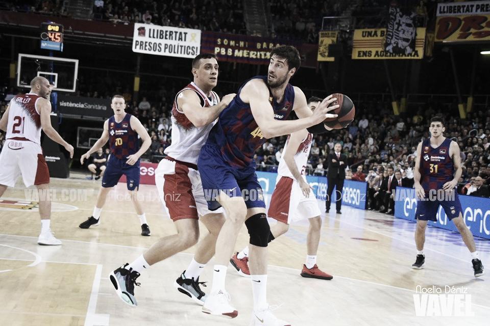 La lesión de Claver empaña un nuevo triunfo del Barça (87-74)