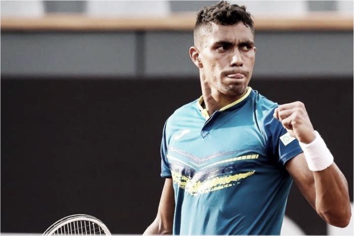 Thiago Monteiro vence Cornut-Chauvinc e fica a uma vitória da chave principal de Roland Garros