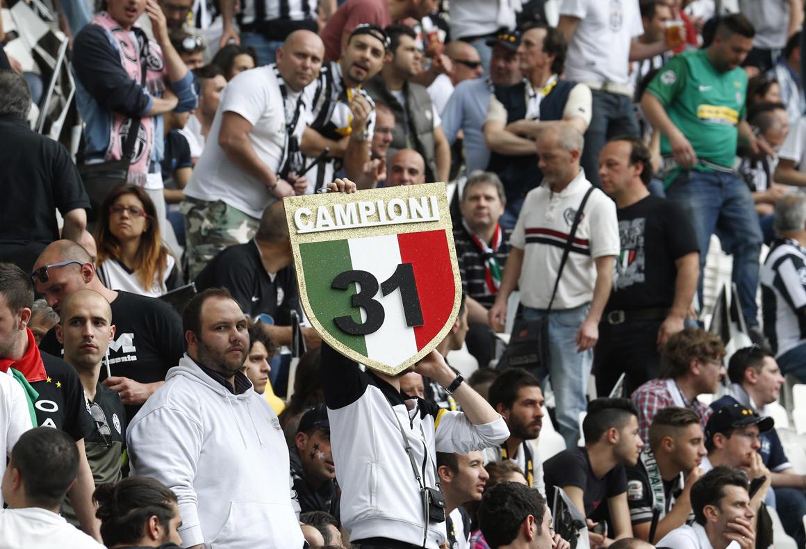 Todos os lados de uma Juventus campeã