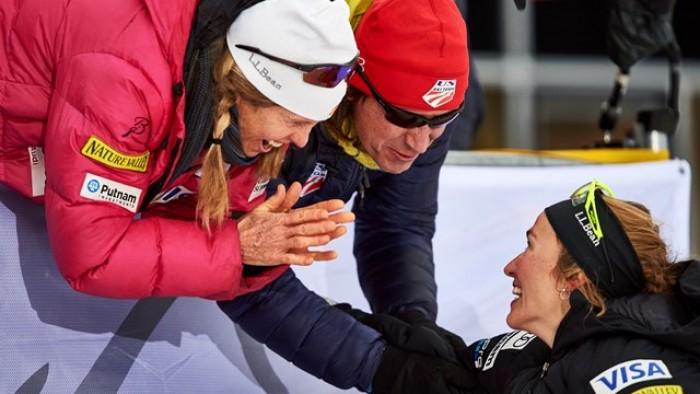 Tour de Ski, 4° tappa: Sprint in classico a Caldwell e Iversen