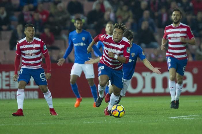 Granada CF - UD Almería: puntuaciones del Granada, jornada 18 de Segunda División