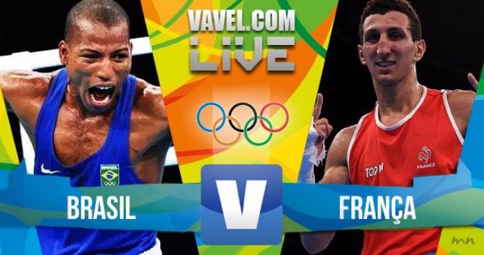Robson Conceição x Sofiane Oumiha no boxe masculino dos Jogos Olímpicos